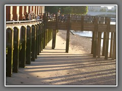 6.23 Thames river bank at low tide by Royal Festival Hall