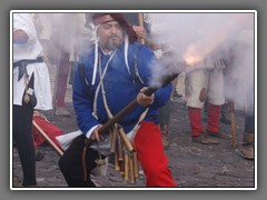 8.4 There are events, such as this re-enactnment of a battle during the Hundred Years War