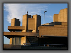 6.8 Royal National Theatre; Anthony Gormley statue